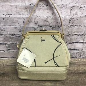 Impulse by sharif Eclipse Taupe Handbag new